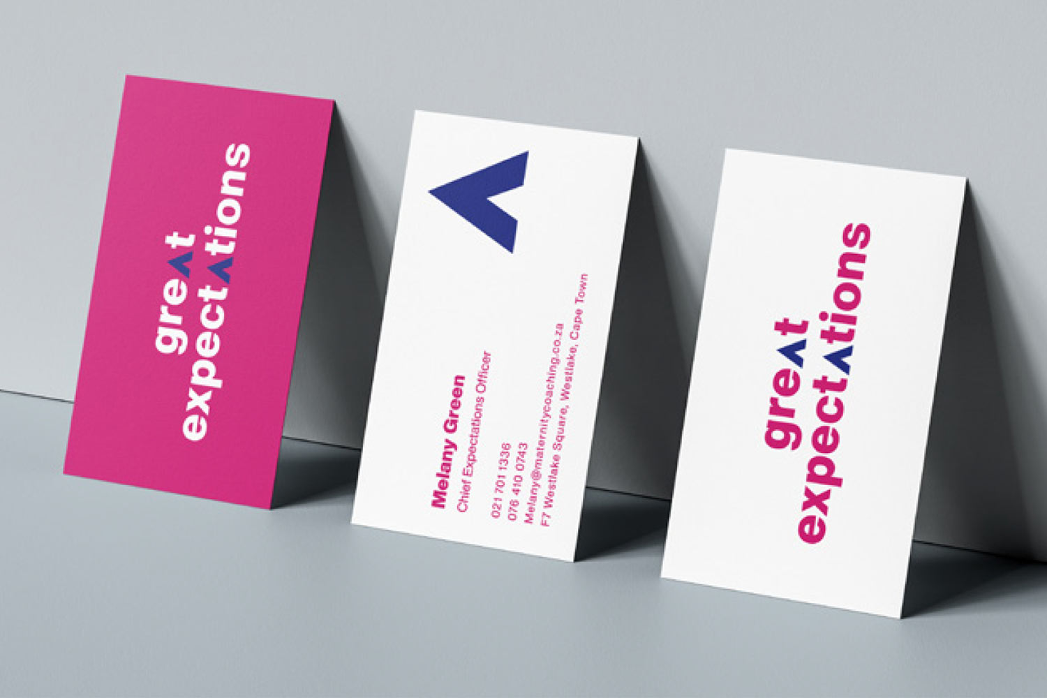 Great Expectations Identity Design